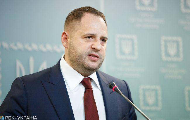 """Єрмак про повернення Донбасу: хотіли б до кінця року, але є і план """"Б"""""""