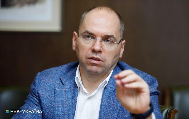Майже в два рази: Степанов пояснив відставання від плану COVID-вакцинації