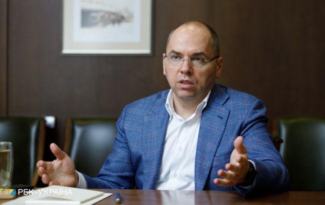 Степанов: вакцина Pfizer приїде наприкінці лютого, AstraZeneca до кінця тижня