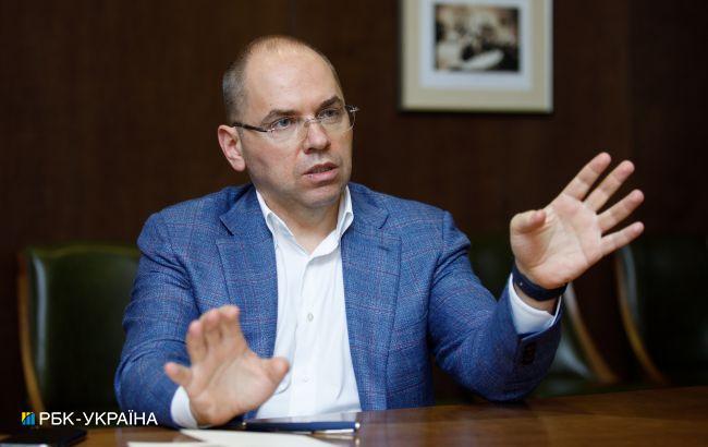 Степанов: затримка поставок не вплине на виконання плану вакцинації