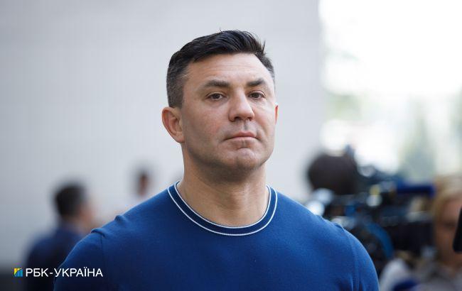 Тищенко обматюкал нардепа в Трускавце на глазах у журналистов (видео)
