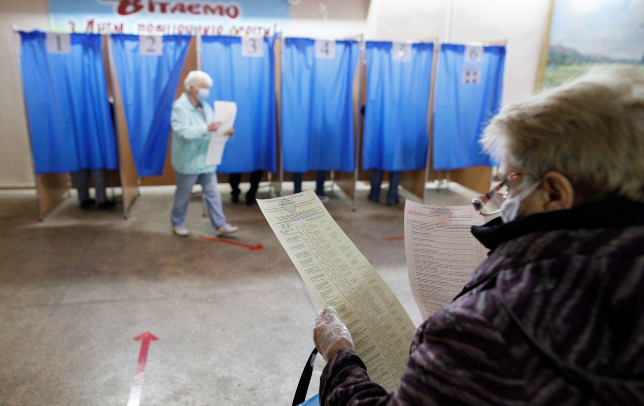 ЦИК опубликовал первые результаты местных выборов в Украине