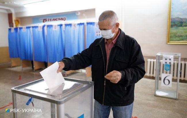 ЦВК назвала явку на виборах мерів