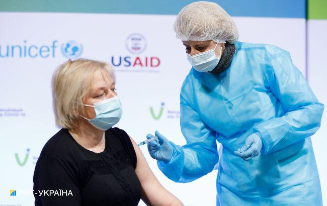 Шмыгаль: за сутки вакцинировали более 18 тысячукраинцев, но способность - более 80 тысяч