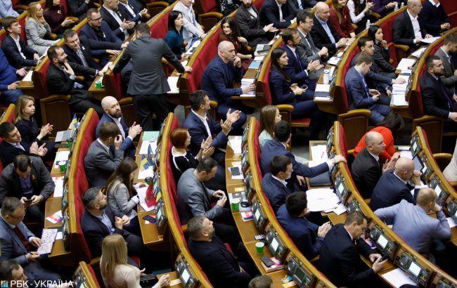 Рада розблокувала підписання змін до регламенту щодо ліміту правок