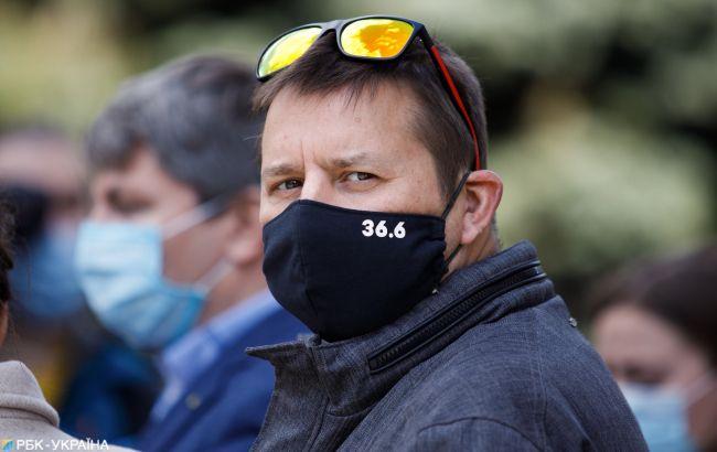 Коронавірус в Україні: кількість зафіксованих випадків на 25 квітня