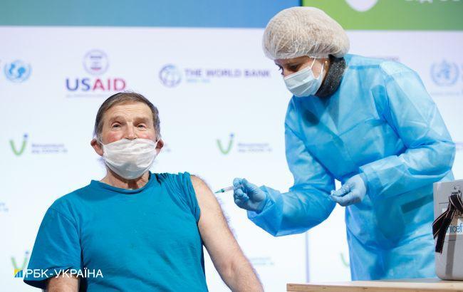 Украина начинает вакцинацию от COVID жителей оккупированных территорий