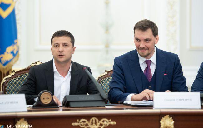 Гончарук встречался с Зеленским по поводу премий министров