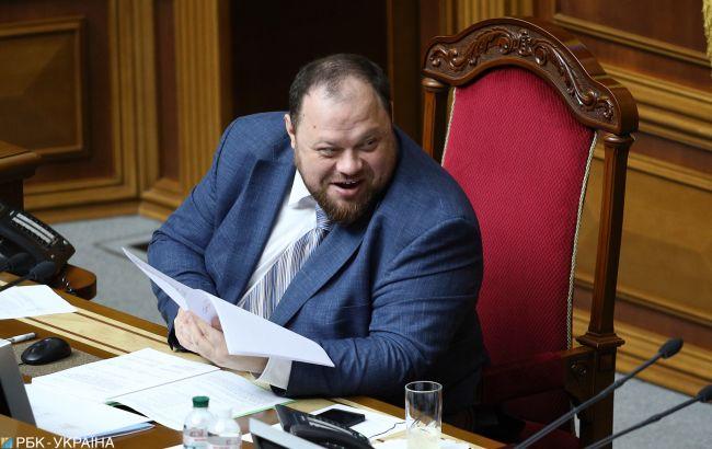 Стефанчук: опрос на выборах - это пробник референдума