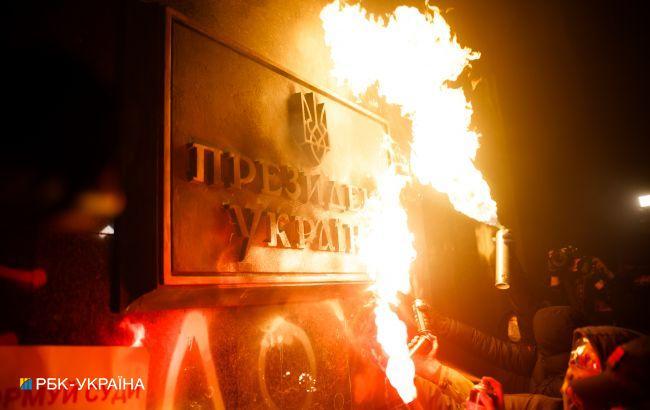 Полиция объявила подозрение одному из организаторов беспорядков под ОП