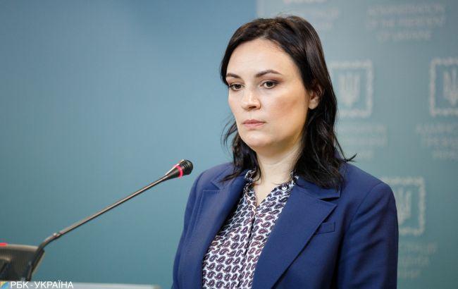 Ковалив покинула должность замглавы Офиса президента