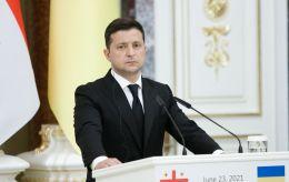 Зеленский подписал санкции против российских банков