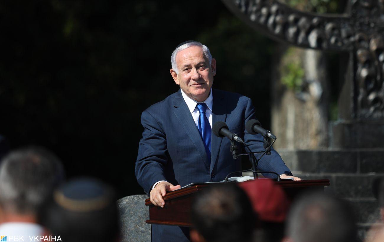 """Нетаньяху готов к переговорам с палестинцами на основе """"мирного плана Трампа"""""""