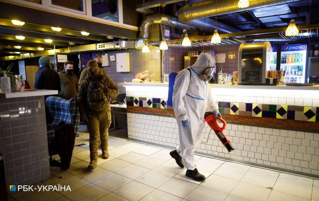 Полиция Киева за неделю составила 160 админпротоколов из-за нарушения локдауна