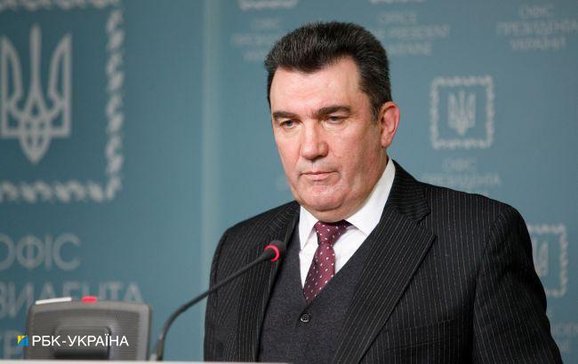 Впервые не в Киеве. Данилов анонсировал заседание СНБО в эту пятницу