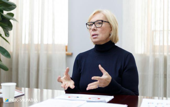 Денісова уточнила, скільки українців незаконно утримується в Криму, ОРДЛО і самій Росії