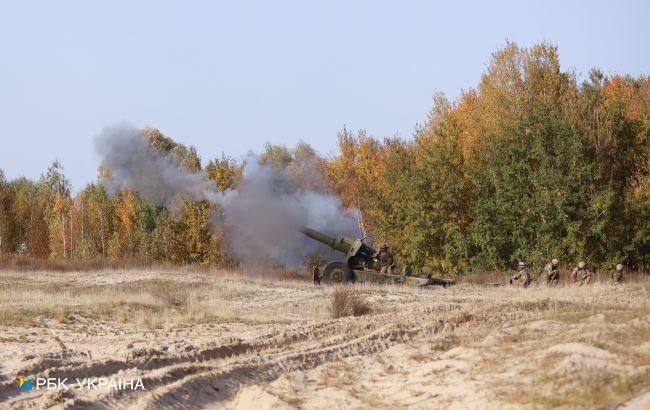 Оккупанты открыли огонь из минометов вблизи поселка Пески на Донбассе