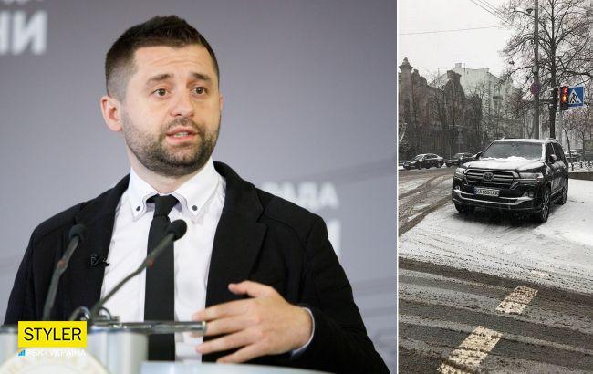 Арахамія перепросив за порушення ПДР в центрі Києва: винен - заплатив