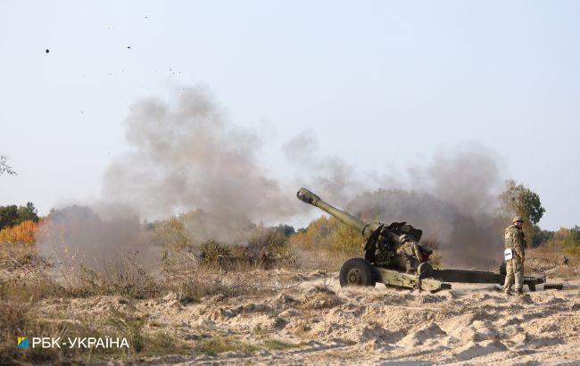 Российские оккупанты трижды обстреляли позиции ВСУ на Донбассе