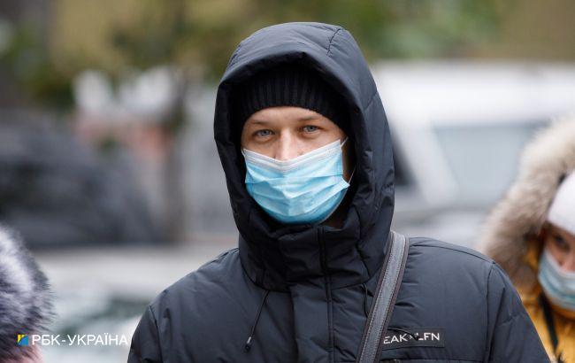 В Украине более чем в 12 раз превышен показатель заболеваемости COVID-19