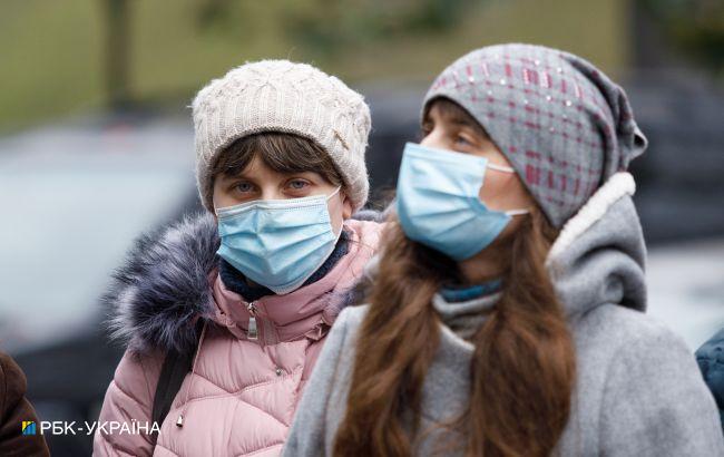 В Киеве почти 1,8 тысячи новых случаев COVID-19
