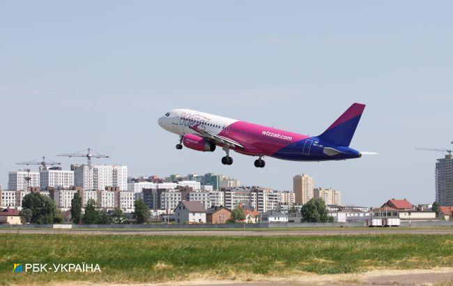"""Лоукостер Wizz Air запустил рейс из """"Борисполя"""" в столицу ОАЭ"""