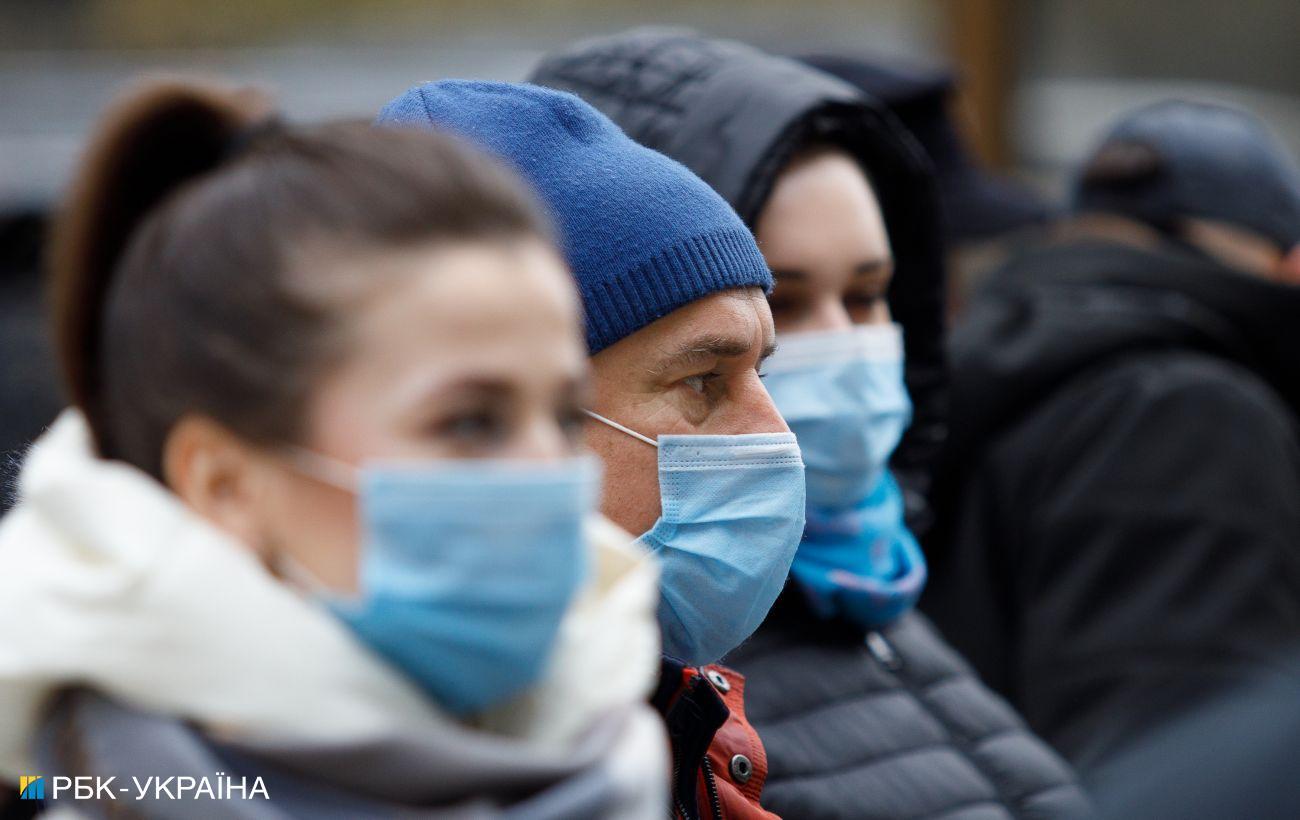 В Украине 2576 новых случаев коронавируса