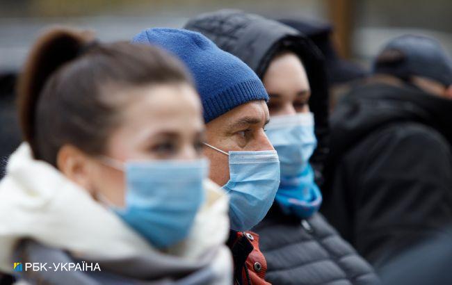 В Украине 6451 новый случай коронавируса