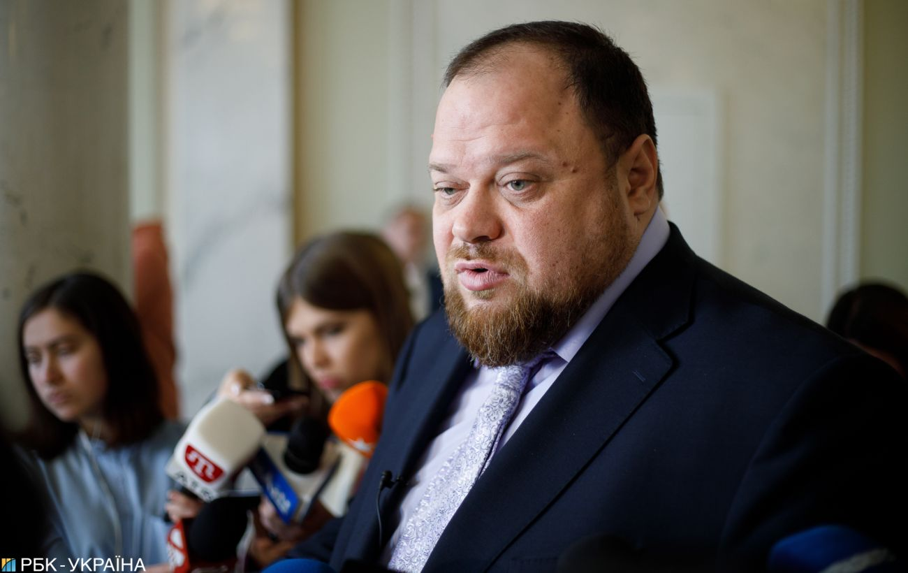 Зеленский уволил Стефанчука с должности представителя президента в Раде