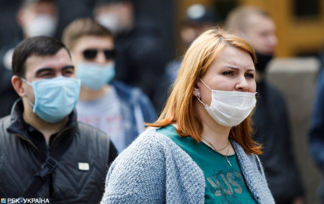 В Украине еще 5165 новых случаев COVID-19