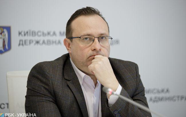 """Киев попадает в """"оранжевую"""" зону карантина, - Рубан"""