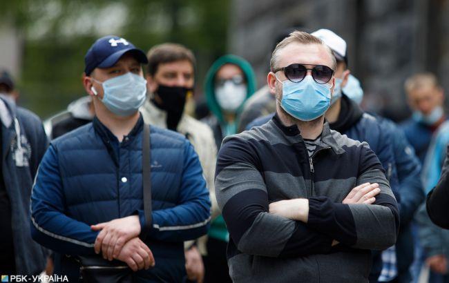 В Украине за сутки 1 109 случаев коронавируса