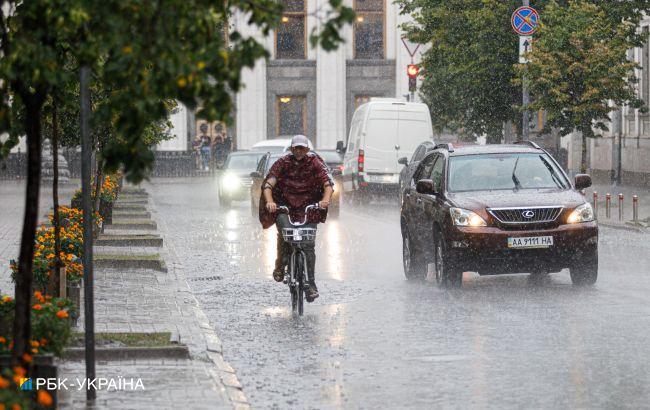 Дощі та похолодання накриють всю Україну: прогноз погоди на вихідні