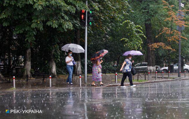 В Украину идут жуткие ливни: где ожидать настоящий потоп