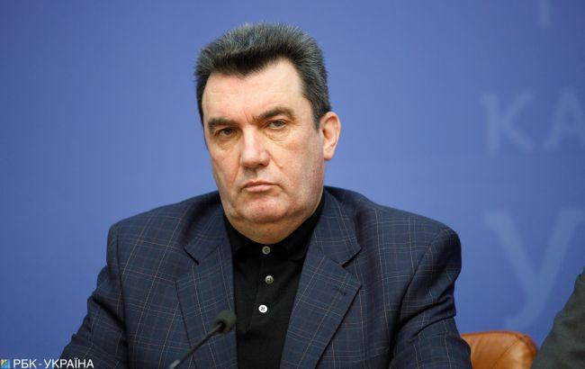 """Данилов пообещал """"достойный ответ"""" на действия России из-за санкций против Медведчука"""