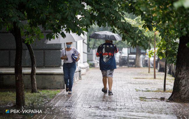Киев в ближайший час накроет гроза