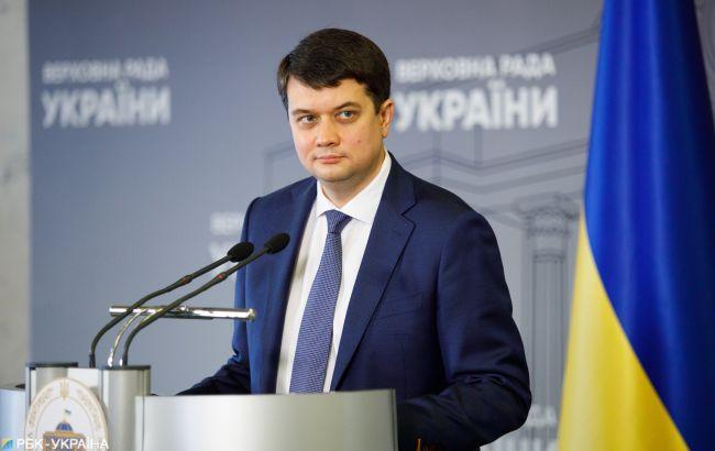 Разумков не верит, что Рада примет закон о Киеве до выборов