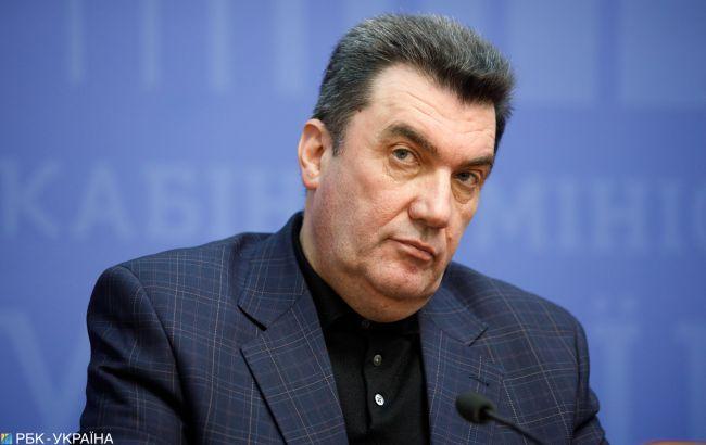 """Данілов про """"трубопровід Медведчука"""": скоро країна дізнається, хто його не помічав"""