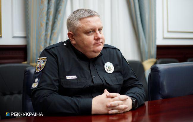 В полиции Киева на вооружении нет водометов