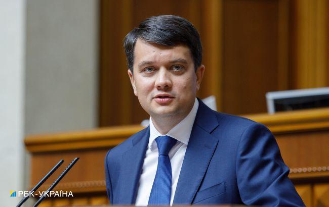 Разумков объяснил, почему не поддержал закрытие трех каналов. Не было информации от СБУ
