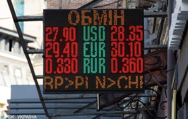 НБУ за березень витратив на підтримку гривні майже 2,2 млрд доларів