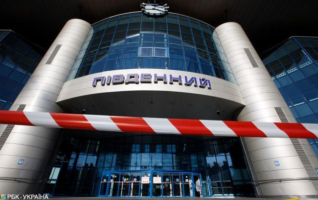У Києві відновили рух біля Південного вокзалу
