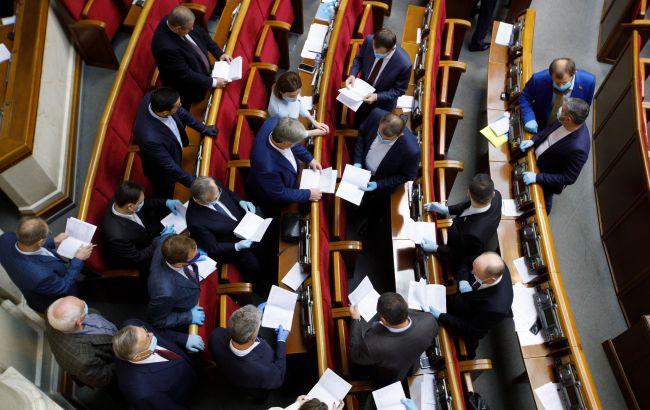 Нардепы задекларировали 4,9 млрд гривен наличных: больше годового бюджета МИД