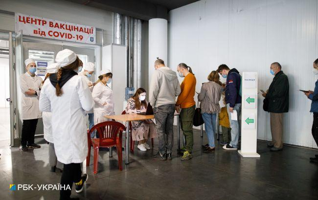 УКиєві відкрили попередній запис на вакцинацію в МВЦ через мобільний додаток