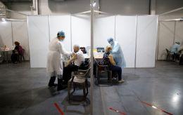 В Украине заработали более 50 центров вакцинации