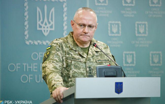 Хомчак назвав число кадрових російських військових на Донбасі