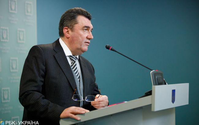 Данілов - секретарю Радбезу Росії: Україна не потребує порад щодо мови