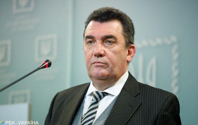 У Зеленського анонсували брифінг Данілова після засідання РНБО