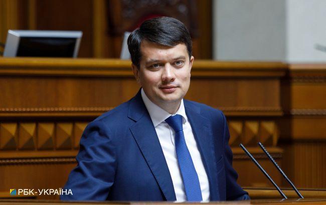 Разумков про закони щодо Донбасу: мають рухатися в унісон з нормандським форматом