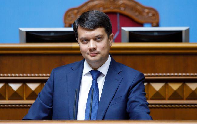 Разумков обсудил со спикером парламента Израиля соглашение о зоне свободной торговли